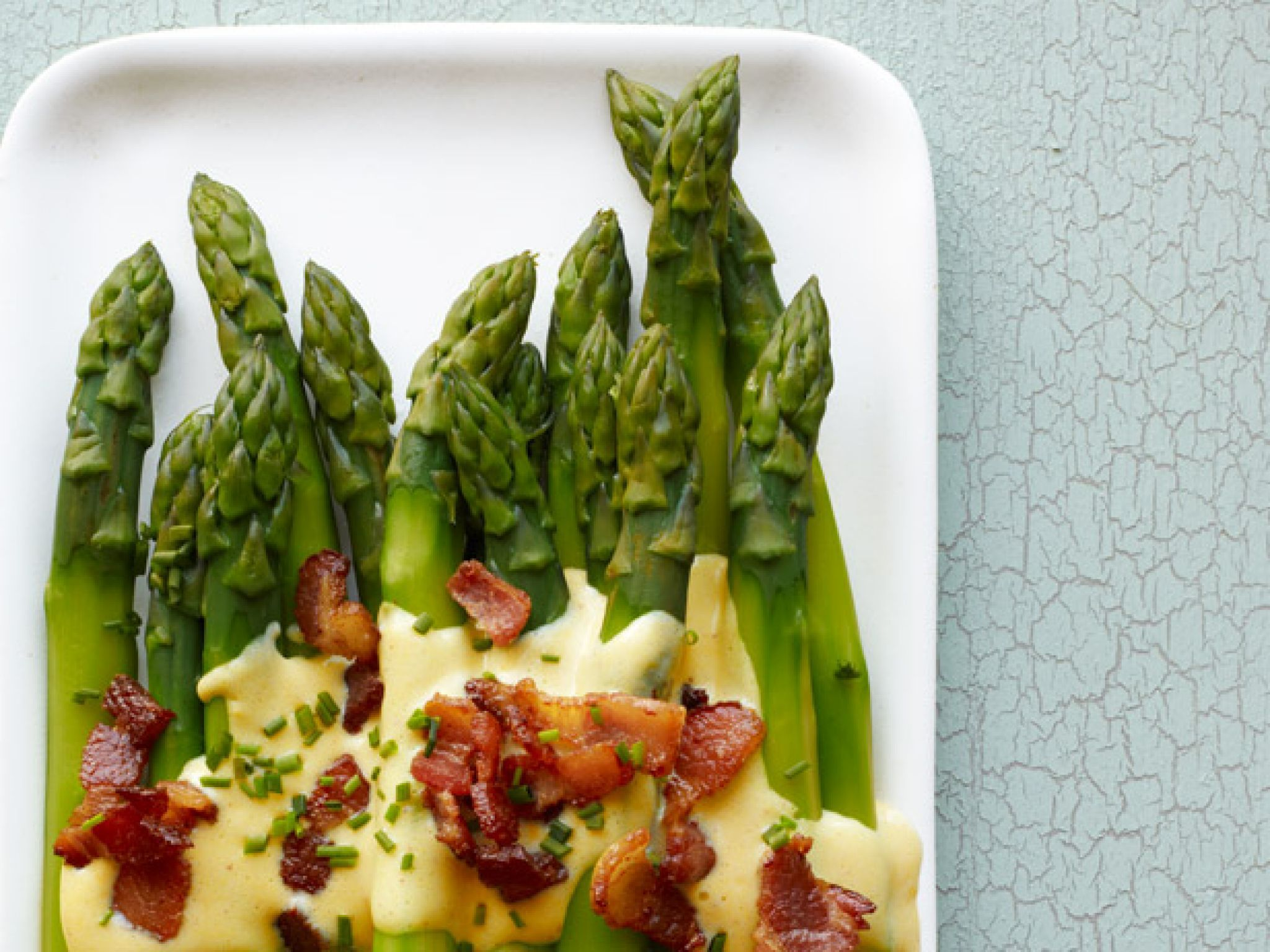 Our best easter recipes asparagus bacon and recipes asparagus with bacon sabayon food network magazine forumfinder Images