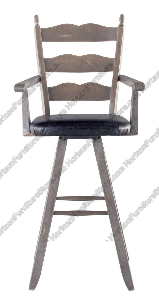Canadel Champlain Swivel Bar Stool With Arms  STO 0764 Canadel Bar Stools90