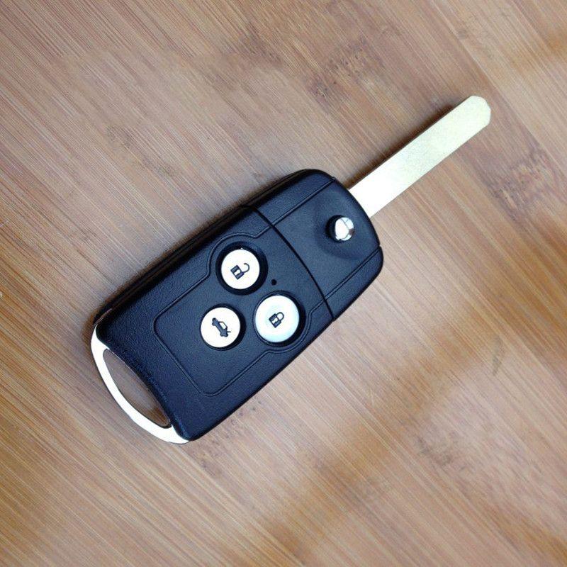 Or Honda Accord Flip Key Replacement Folding Remote Key Shell 3