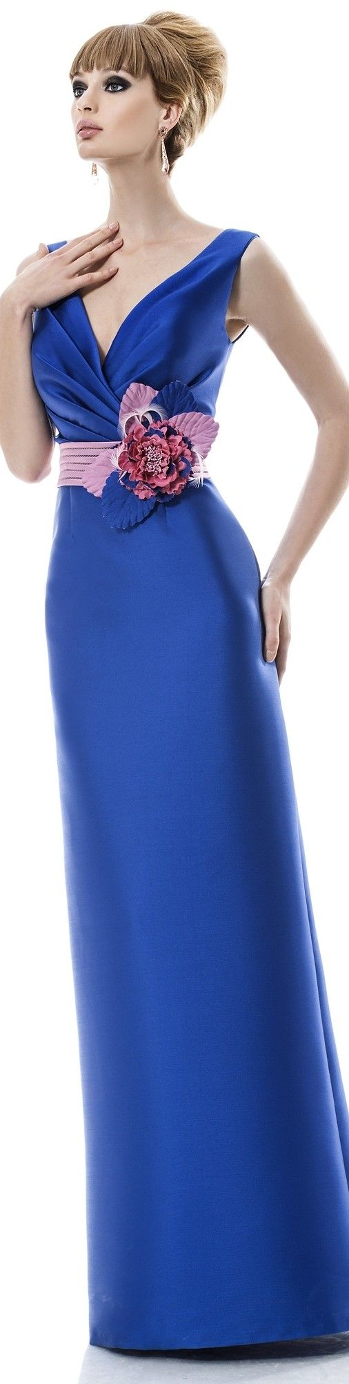 Angela ariza bridesmaids pinterest blue dresses gowns and