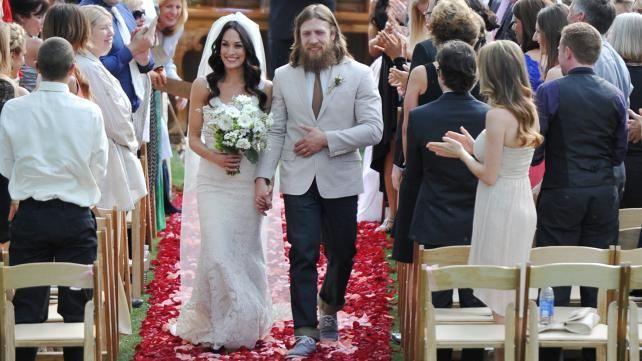 Daniel Bryan And Brie Bella S Wedding Photos Brie Bella Wedding Brie Bella Brie Bella Wwe