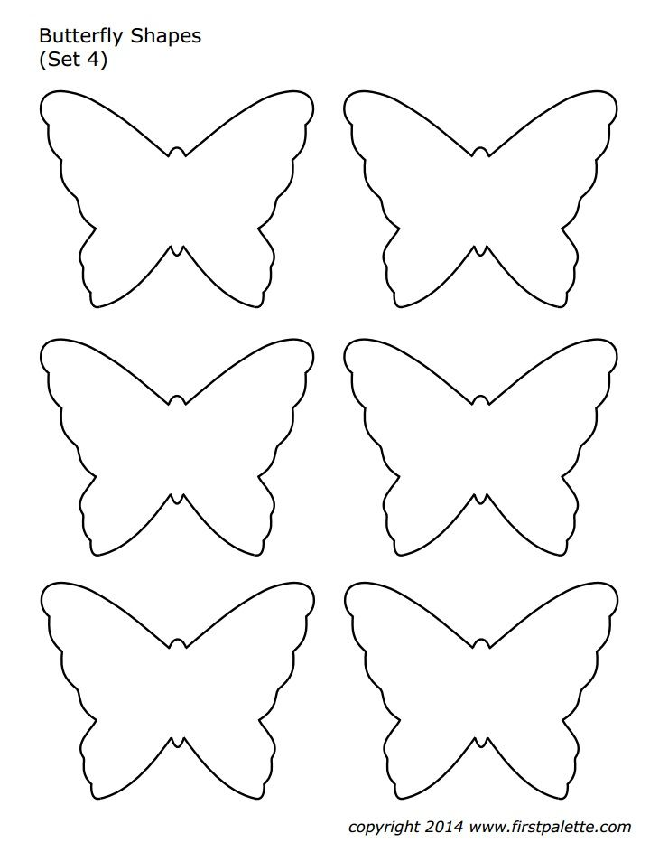 Pin By Sherry Seaton On Crafts Butterfly Template Butterfly