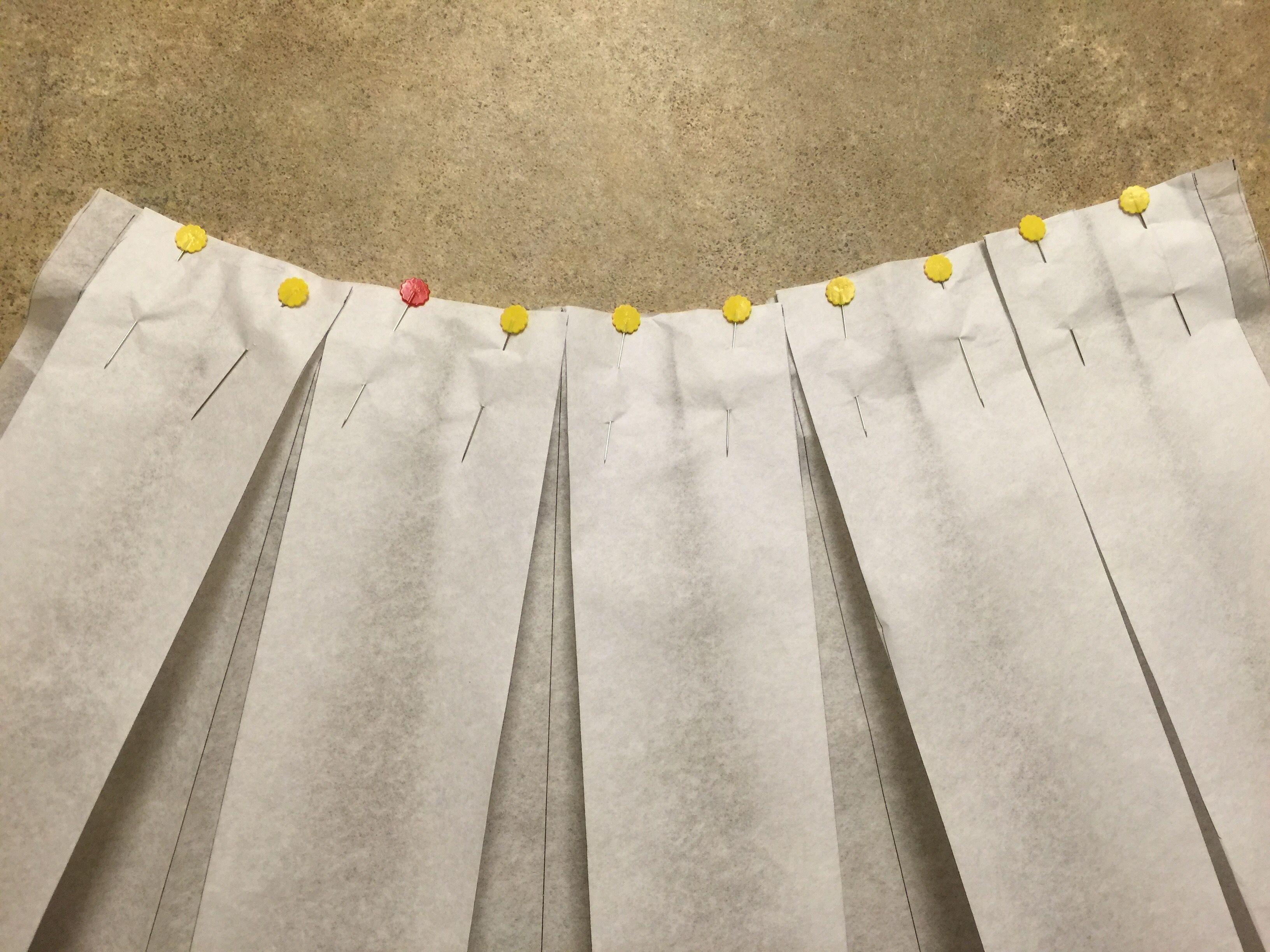 Diy: box pleated skirt tutorial youtube.