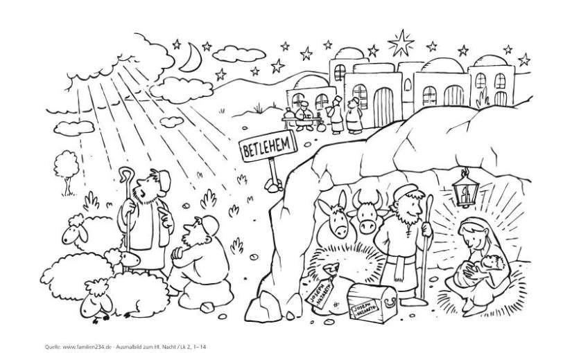 Advent Weihnachten Anregungen Ausmalbilder Ausmalbilder Weihnachten Ausmalbild