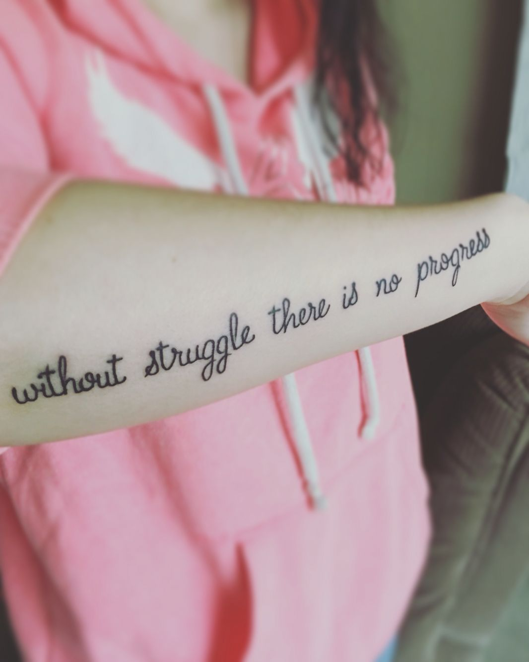 Without Struggle There Is No Progress Tattoos Tattoos