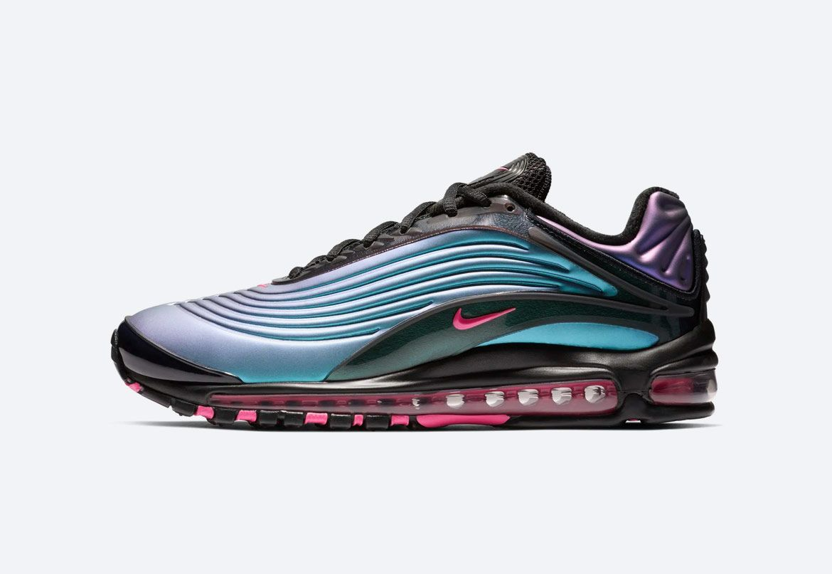 Nike Air Max Deluxe </p>                     </div>                     <!--bof Product URL -->                                         <!--eof Product URL -->                     <!--bof Quantity Discounts table -->                                         <!--eof Quantity Discounts table -->                 </div>                             </div>         </div>     </div>              </form>  <div style=