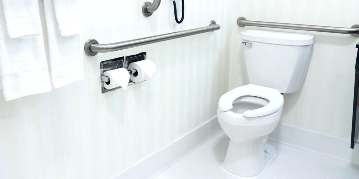 Install A Grab Bar Installing Grab Bar In Bathroom With Images