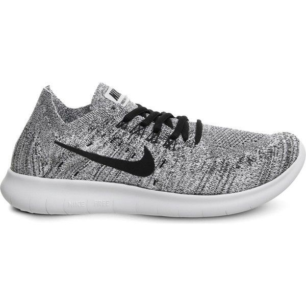 Nike Free Run flyknit trainers (160 CAD) ❤ liked on Polyvore featuring  shoes,