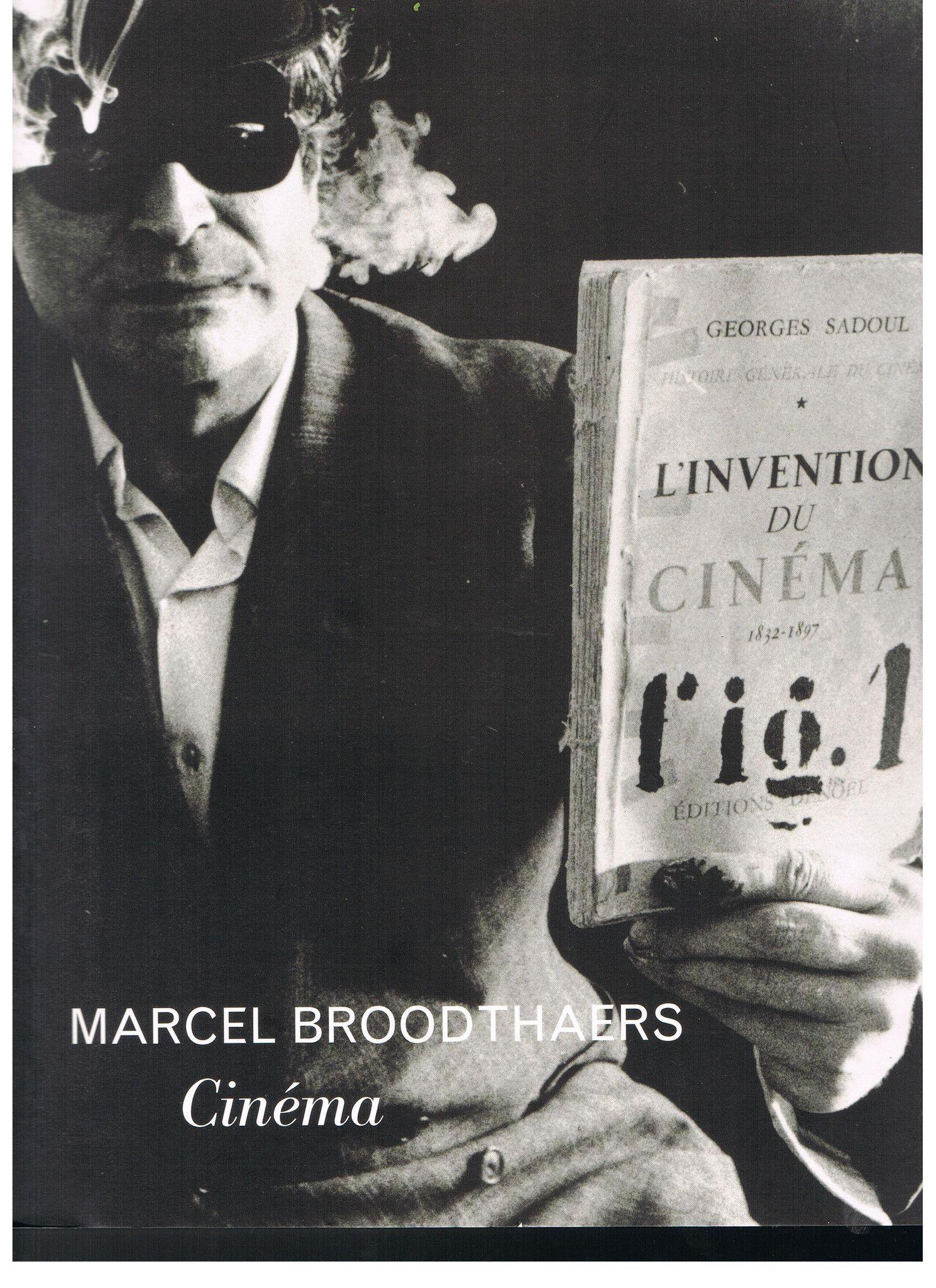 Broodthaers, Marcel. Marcel Broodthaers: Cinema