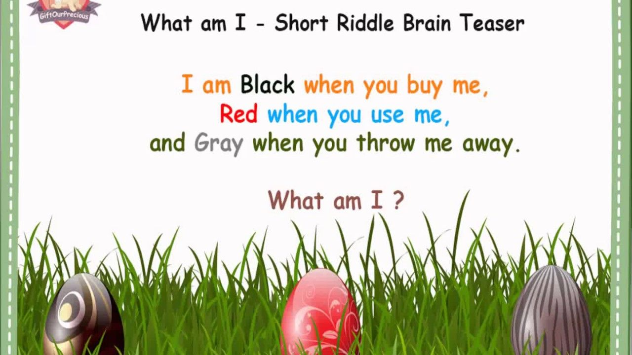 What am I Short Riddles Brain Teasers www