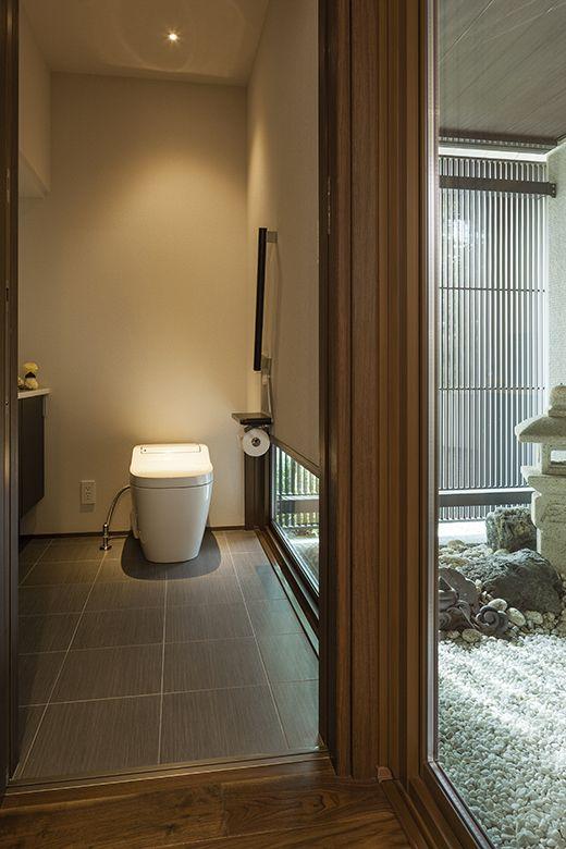 物件詳細 実例ギャラリー 戸建住宅 積水ハウス 和モダン トイレ