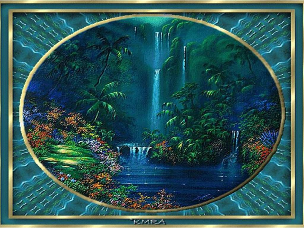 waterfalls pictures for screensavers Waterfall