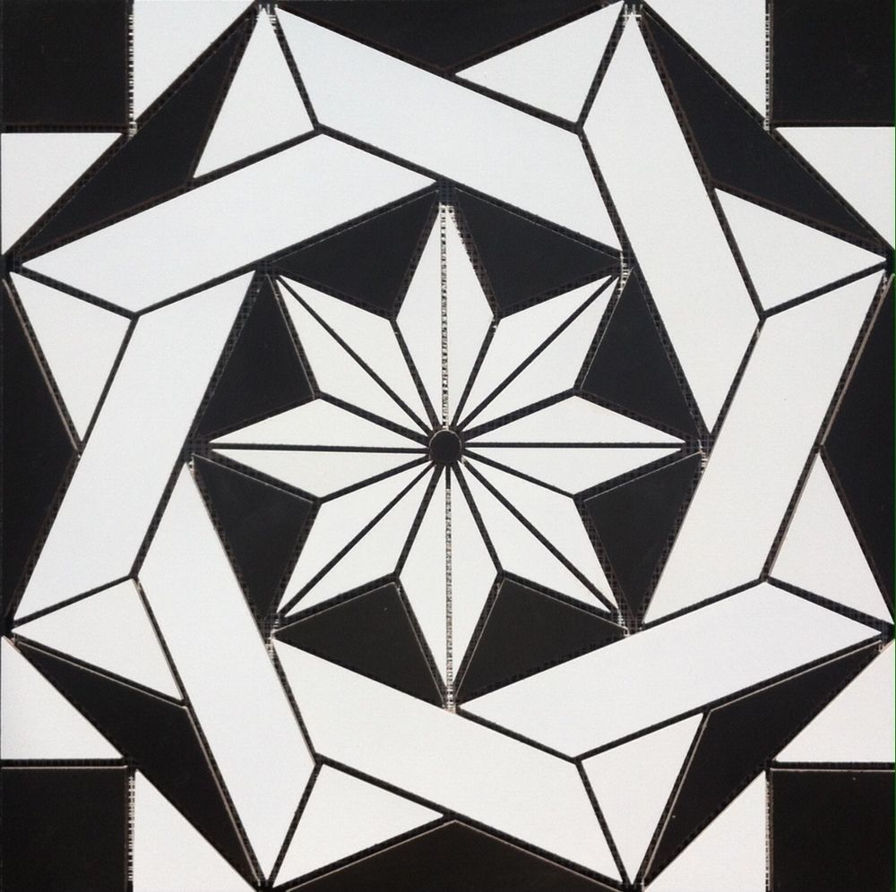 22 14 x 22 14 ceramic tile medallion medallion is made from the 22 14 x 22 14 ceramic tile medallion medallion is made from the following daltile tiles medallion would look great in a tile entryway but can be used dailygadgetfo Gallery
