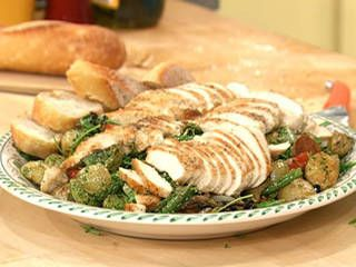 Warm Provencal Chicken Salad Recipe