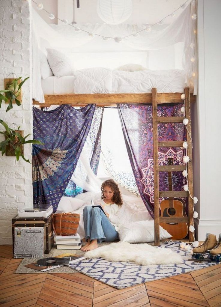 40+ Luxury Dorm Room Decorating Ideas On A Budget | Cool ... on Luxury Bedroom Ideas On A Budget  id=12438