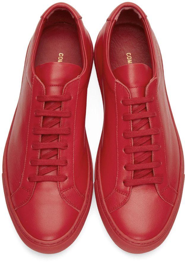 Red Original Achilles Low Sneakers