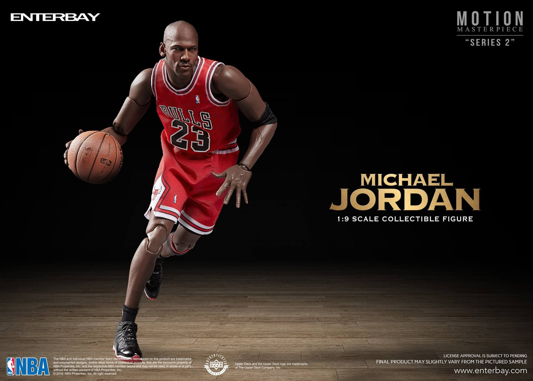 separation shoes 2252b b4112 Michael Jordan 1 9 Scale Collectible Figure by Enterbay