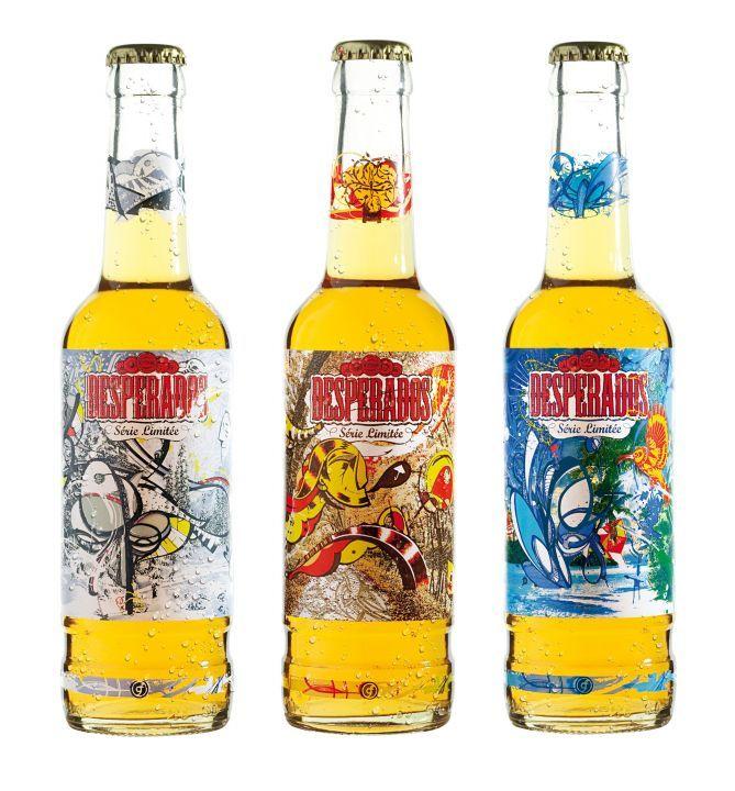 La Biere Devient Design Avec La Nouvelle Collection Desperados Tequila Biere Desperados Biere
