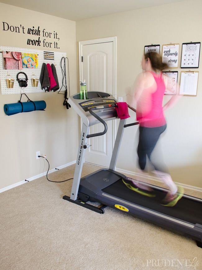 Organized home gym how to turn a corner mini