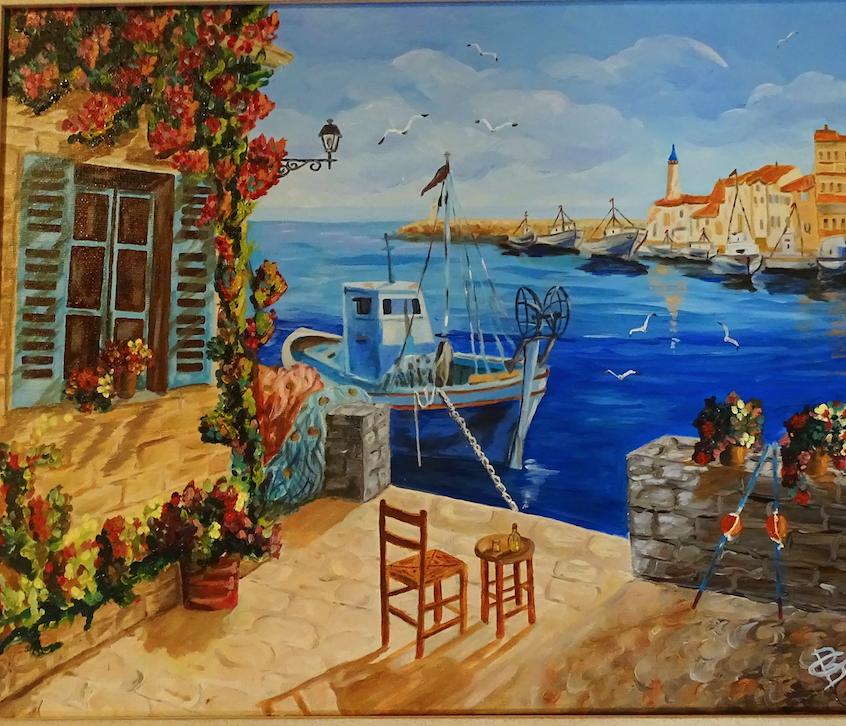 Tableau peinture, peinture sur toile, peinture
