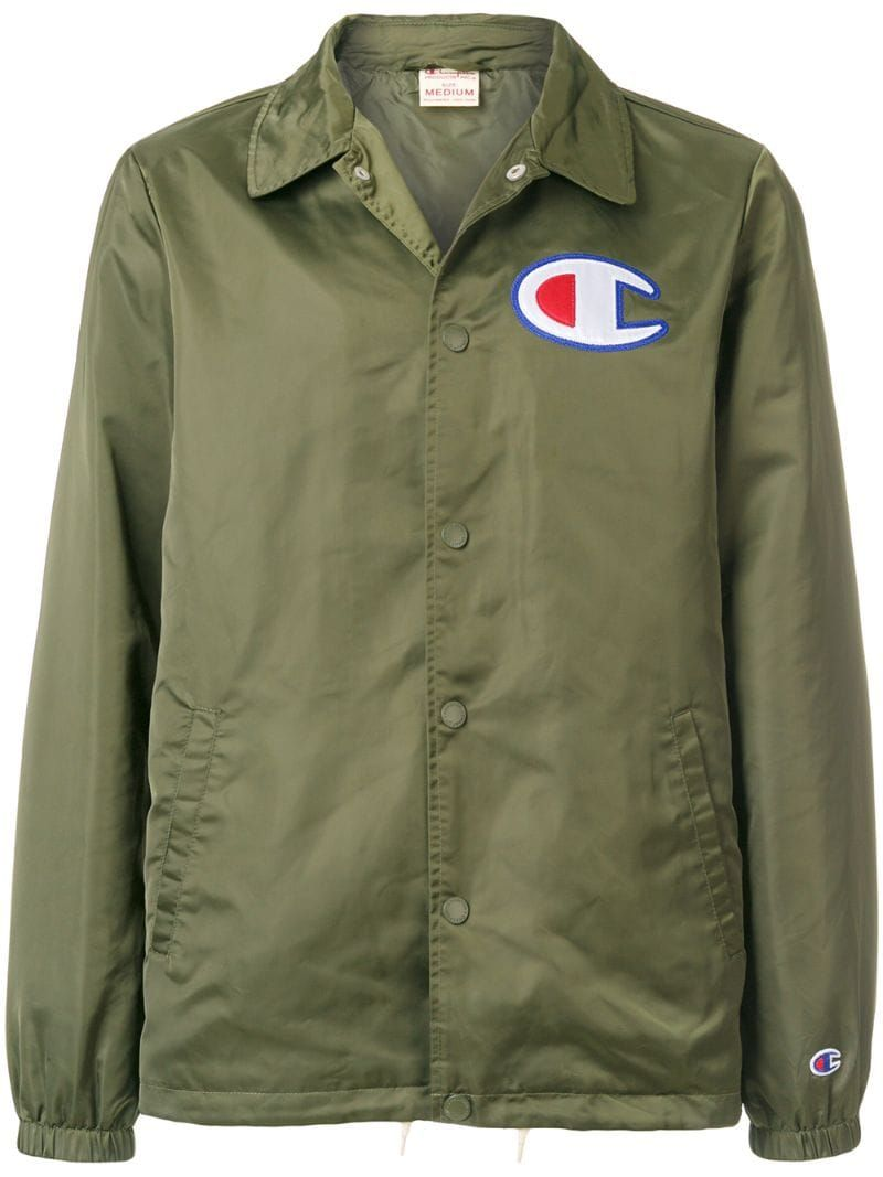 Green Green Jacket Men Shirt Jacket Logo Shirts [ 1067 x 800 Pixel ]