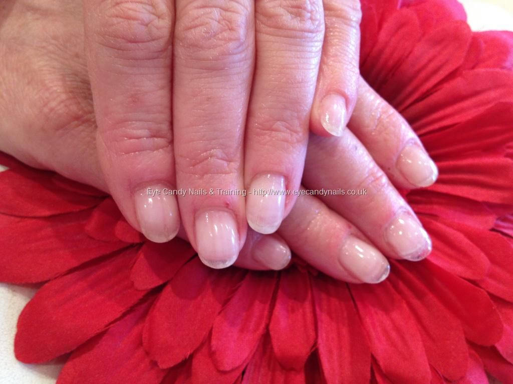 Clear soak off gel overlays on natural nails | Nails | Pinterest ...