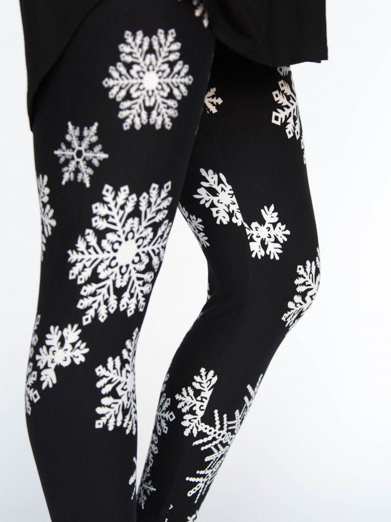 0df2dac4ee25b Agnes & Dora - Leggings Let it Snow Black Snowflake Legging Outfit Winter  Holiday Christmas Leggings www.shopmyprettythings.com