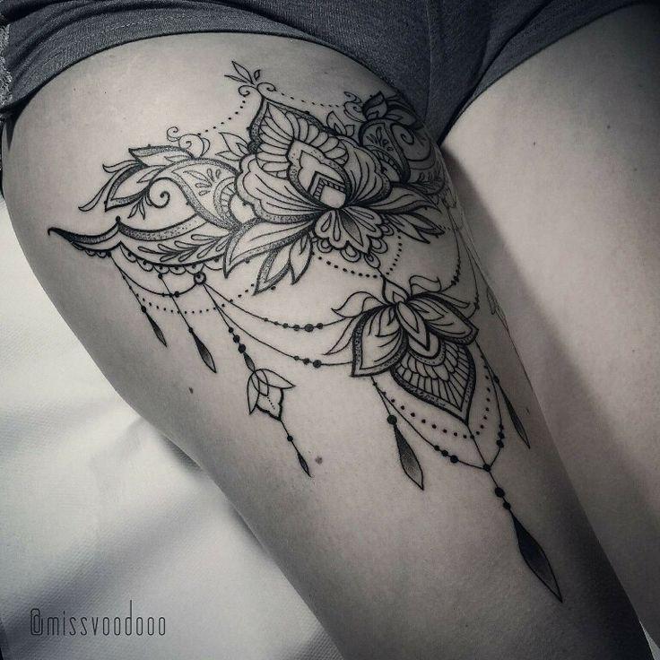 Tattoos Piercings More Bein Tattoos Frauen