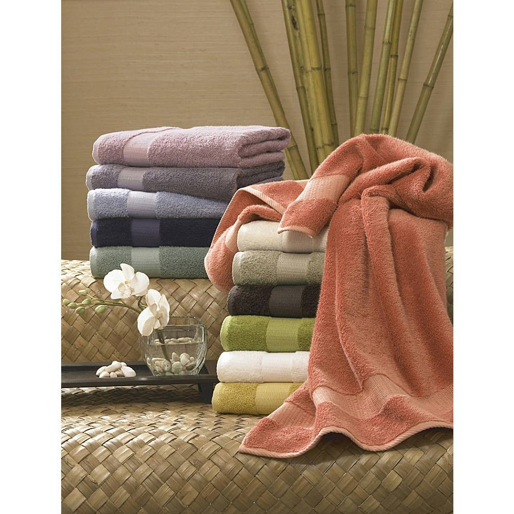 Beautiful Turkishtowels Bamboo Collection 650 Gsm Rayon From Bamboo Combed Egyptian  Cotton 6 Piece Towel Set Bath Towel, 2 Hand Wash Cloth) Photo Gallery