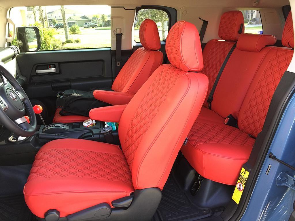 Clazzio Leather Seat Covers 2014 Fj Cruiser By Clazzio