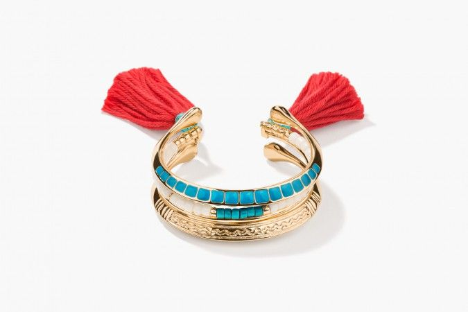 Aurélie Bidermann Bracelet | I love this for summer.