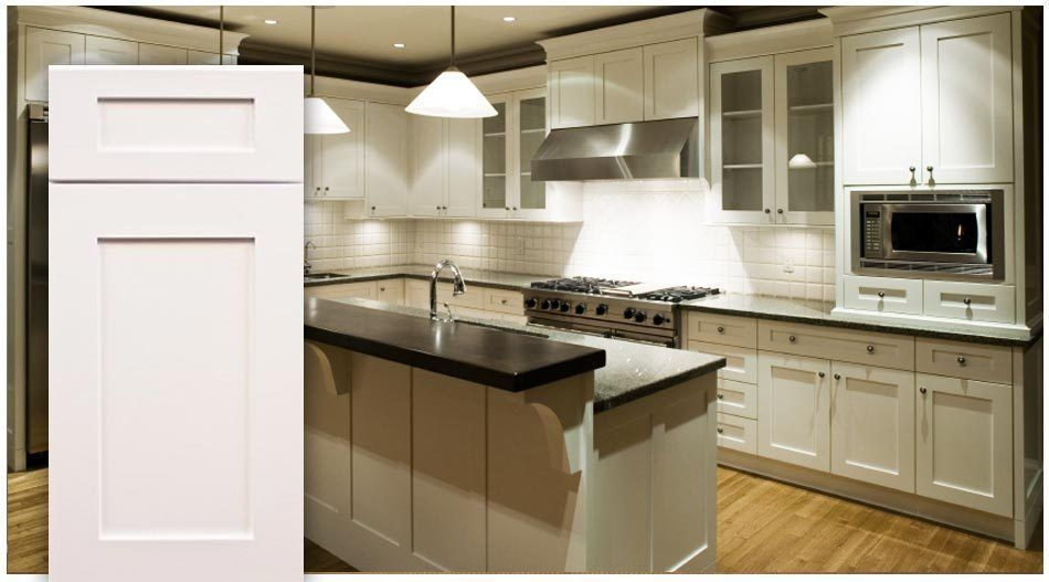 Real wood wholesale kitchen cabinet package white shaker for Shaker kitchen cabinets wholesale
