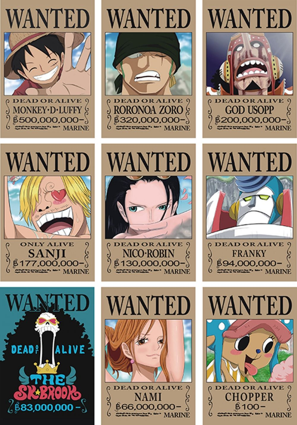 9 42x29cm One Piece Wanted Poster Price 20 00 Free Shipping Anime À¹'ปสเตอร À¸«à¸™ À¸‡à¹€à¸ À¸² À¸§ À¸™à¸ž À¸‹ À¸à¸²à¸£à¸ªà¸à¸™