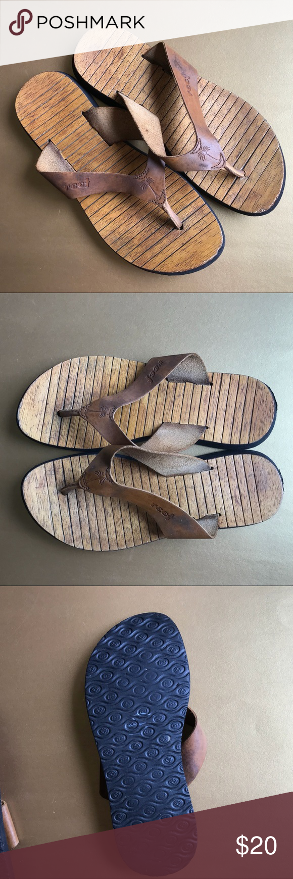 6e7e83f23f2f Old School Reef Sandals Remember these    Old school sandals...worn in  leather and comfy. Reef Shoes Sandals
