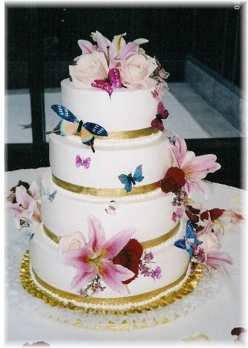 Wedding Cakes Top Erfly Cake Decorations Pictures Ideas And Theme Sangmaestro Topper Edible