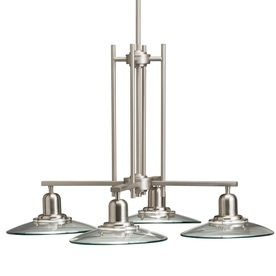Allen Roth 4 Light Galileo Brushed Nickel Chandelier From Lowes $189