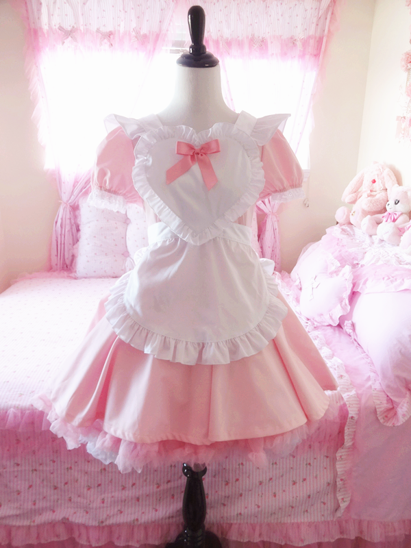 Pink Maid Dress Google Search