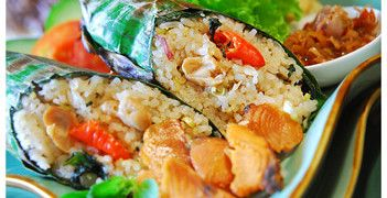 Nasi Bakar. One of the best Indonesian foods  See more about it here
