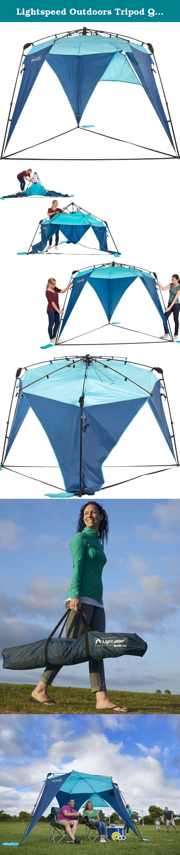 Lightspeed Outdoors Tripod Quick Canopy. Designed in San Diego California the Tripod Quick Canopy  sc 1 st  Pinterest & Lightspeed Outdoors Tripod Quick Canopy. Designed in San Diego ...