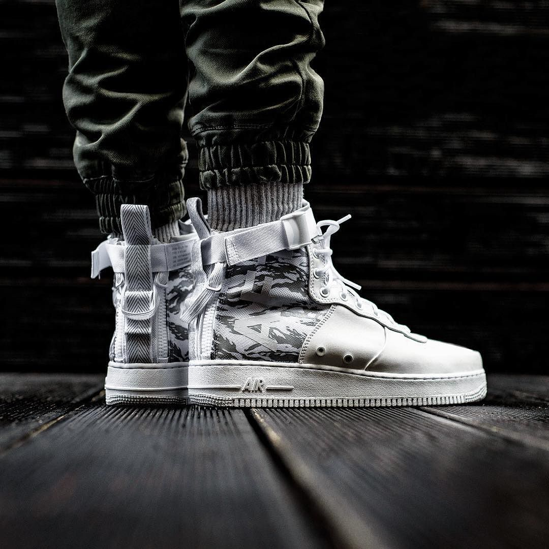 nike sf air force 1 grigie