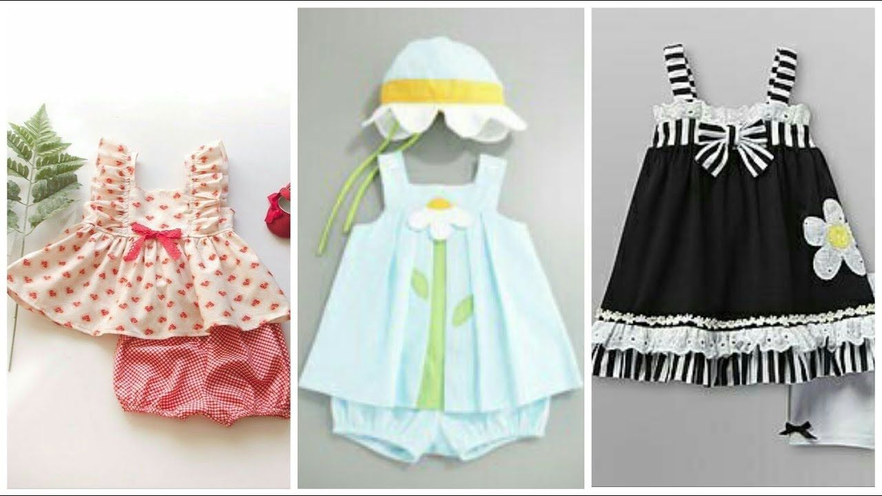 1b64d3d88 Simple Cotton Summer Frocks Designs For Baby Girls