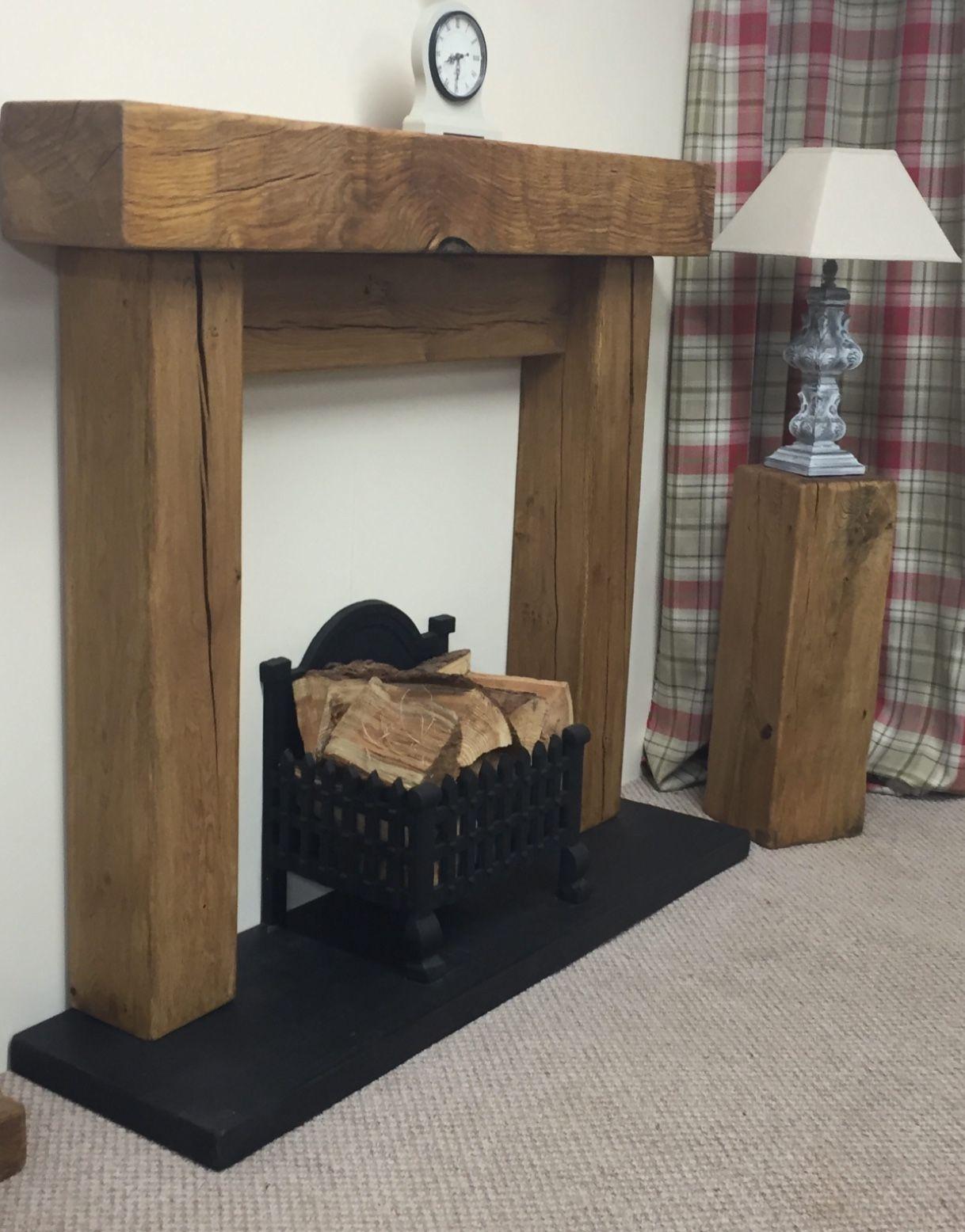 Fireplace Ideas Lounge Woodnwax Co Uk Rustic Air Dried Oak