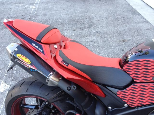 Cool New Candy Red Yamaha R1 W Htmoto Custom Seat Covers And Gamerscity Chair Design For Home Gamerscityorg