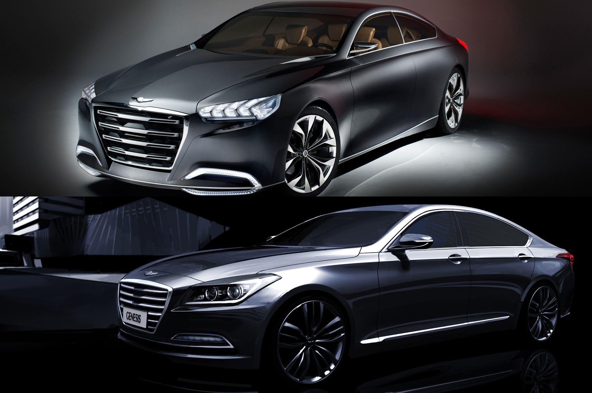 hyundai concept ( hyundai genesis luxury conceptcars