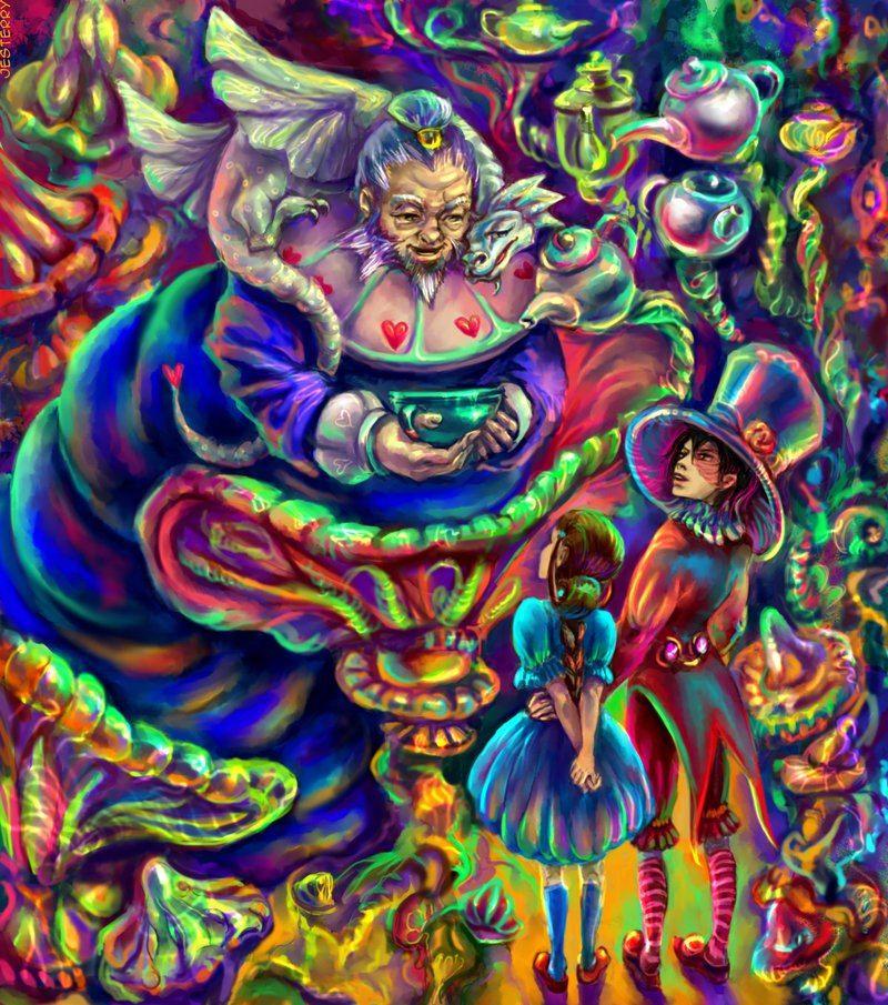 Psychedelic Arts Foto Com Imagens Melhor Desenho Producao