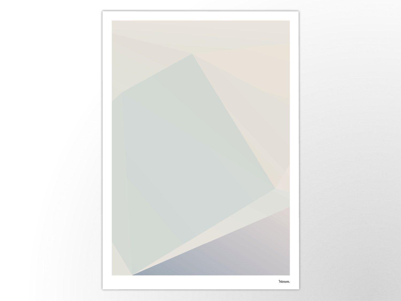 Kunstdrucke Modern swan no 8 poster abstract prints modern scandinavian pastel