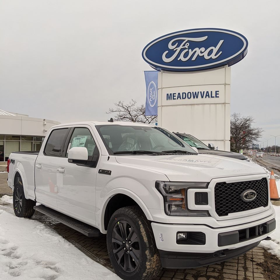 The All New 2020 F150 Lariat With The Black Appearance Package Has