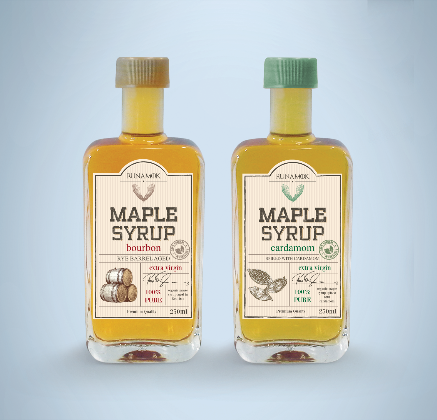 Maple Syrup Label Design Maple Syrup Labels Syrup Labels Label Design