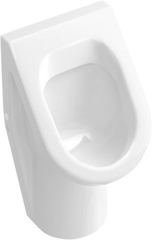 Villeroy & Boch OMNIAarchitectura - Siphonic urinal 355 x 620 x 385 EN 13407 with ceramic strainer, with target, splash-resistant