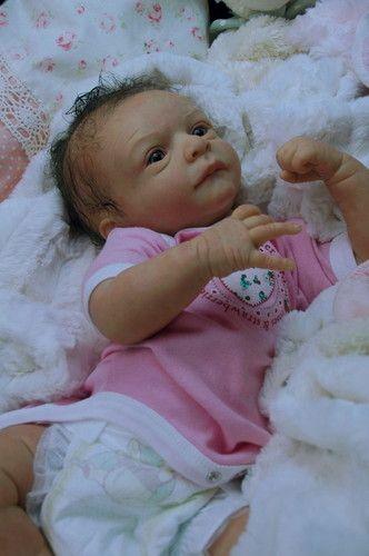 Mummelbaerchens Rosie, so cute Reborn Baby Girl, sculpt by Olga Auer,   eBay